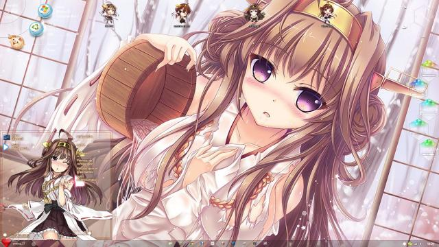 Download Theme Windows 8.1 Kongou Kantai Collection by andrea_37 1