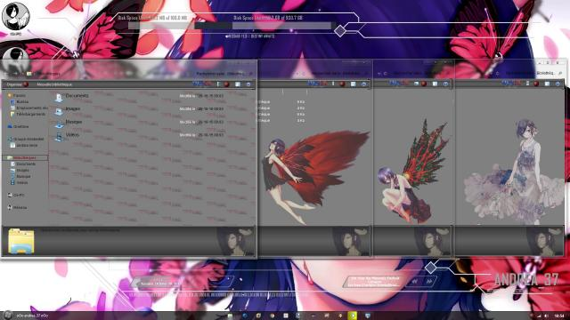 "Download Theme Windows 8 / 10 Tokyo Ghoul""Kirishima Touka"" by andrea_37 3"