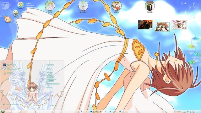 Download Theme Win 8 / 10 Tsubasa Reservoir Chronicle by andrea_37 1