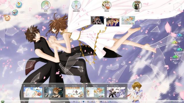 Download Theme Win 8 / 10 Tsubasa Reservoir Chronicle by andrea_37 5