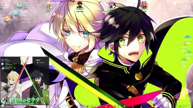 Download Theme Windows 8/10 Owari no Seraph 3