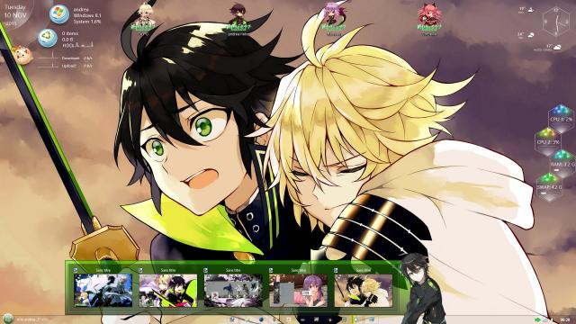 Download Theme Windows 8/10 Owari no Seraph 5